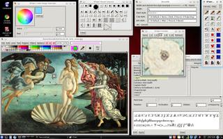 Screenshots of package xpaint