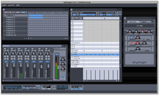 advanced drum machine/step sequencer