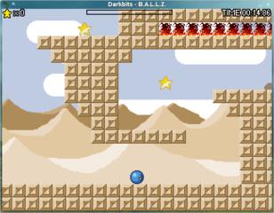 Screenshots of package ballz