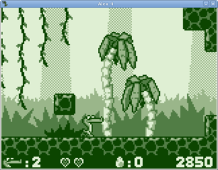 Screenshots of package alex4