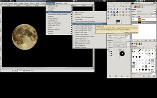 Screenshots of package gimp-plugin-registry