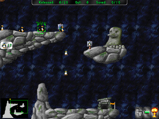 Screenshots of package pingus