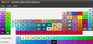 GNOME chemistry utils (helper applications)