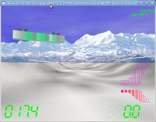 Screenshots of package xracer