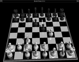 Screenshots of package brutalchess