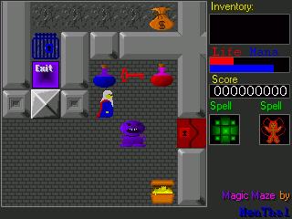 Screenshots of package magicmaze