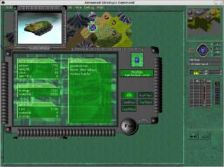 Screenshots of package asc