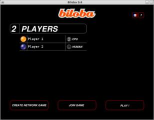 Screenshots of package biloba