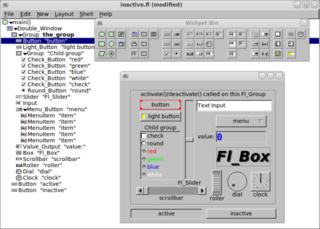 Screenshots of package fluid