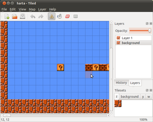 Screenshots of package tiled