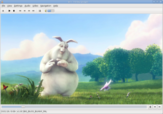 Screenshots of package vlc