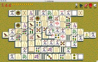 Screenshots of package xmahjongg