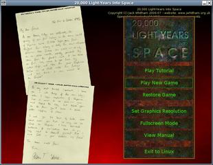 Screenshots of package lightyears