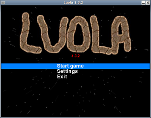 Screenshots of package luola