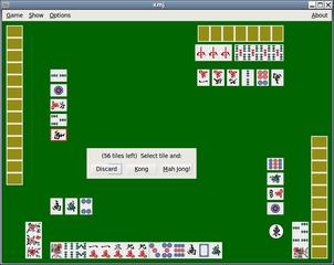 Screenshots of package mah-jong