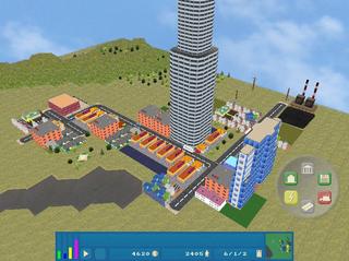 Screenshots of package opencity