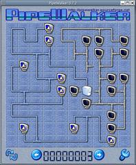Screenshots of package pipewalker