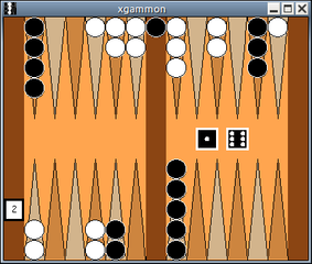 Screenshots of package xgammon