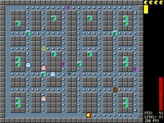 Screenshots of package njam