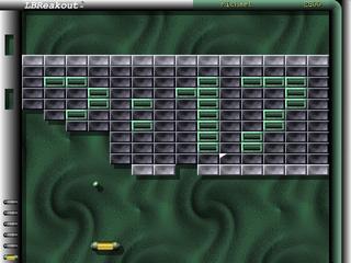 Screenshots of package lbreakout2