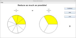 Screenshots of package jfractionlab