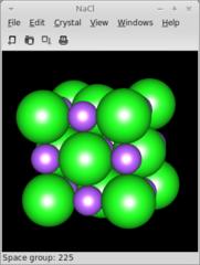 Screenshots of package gcrystal