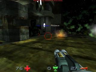 Screenshots of package nexuiz