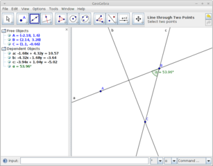 Screenshots of package geogebra