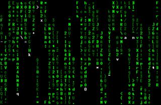 Screenshots of package cmatrix