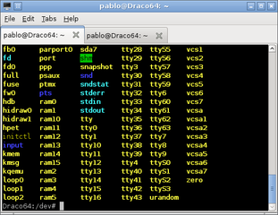 Screenshots of package lxterminal
