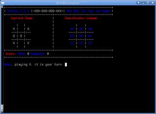 Screenshots of package nettoe