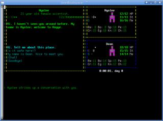 Screenshots of package gearhead