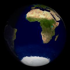 Screenshots of package xplanet