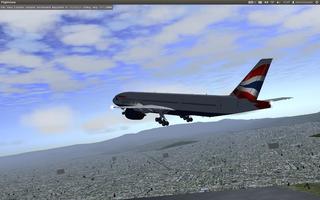 Screenshots of package flightgear