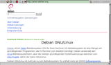 Dillo Screenshot