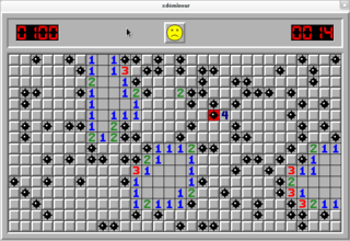 Yet another minesweeper for X
