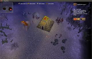 Screenshots of package megaglest