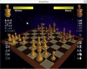 Screenshots of package dreamchess