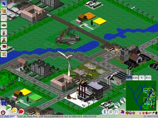 Screenshots of package lincity-ng