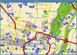 Screenshots of package navit