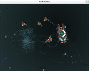 Screenshots of package pax-britannica