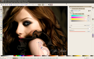 Screenshots of package inkscape