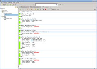Screenshots of package gambas3