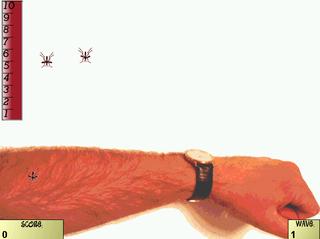 Screenshots of package bugsquish