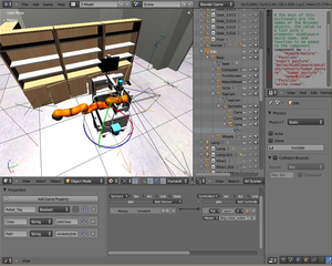 Screenshots of package morse-simulator