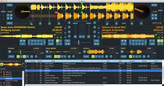 Screenshots of package mixxx