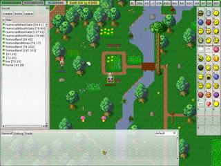 Screenshots of package manaplus