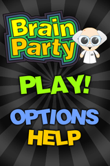 Screenshots of package brainparty