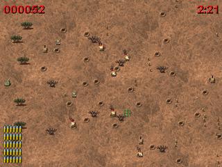 Screenshots of package barrage