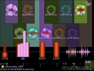 Screenshots of package freewheeling